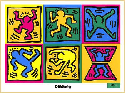 Meryl's Keith Haring Page